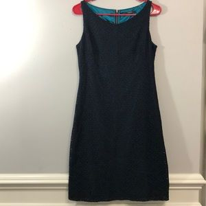 Tahari Lace Blue Super Cute Dress 👗 Size 8